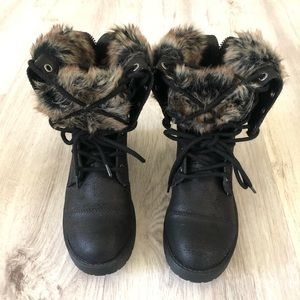 Forever 21 Two-way boots